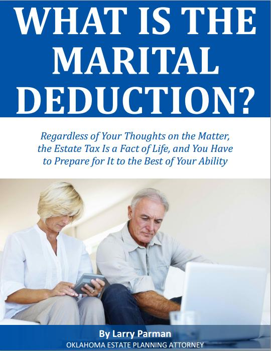 What is the Marital Deduction in Oklahoma